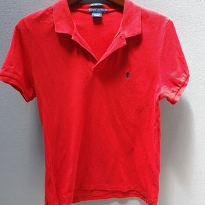 Ralph Lauren Red Polo Shirt Size XL The Skinny